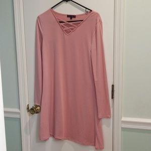 Dresses & Skirts - Pink dress, NWOT